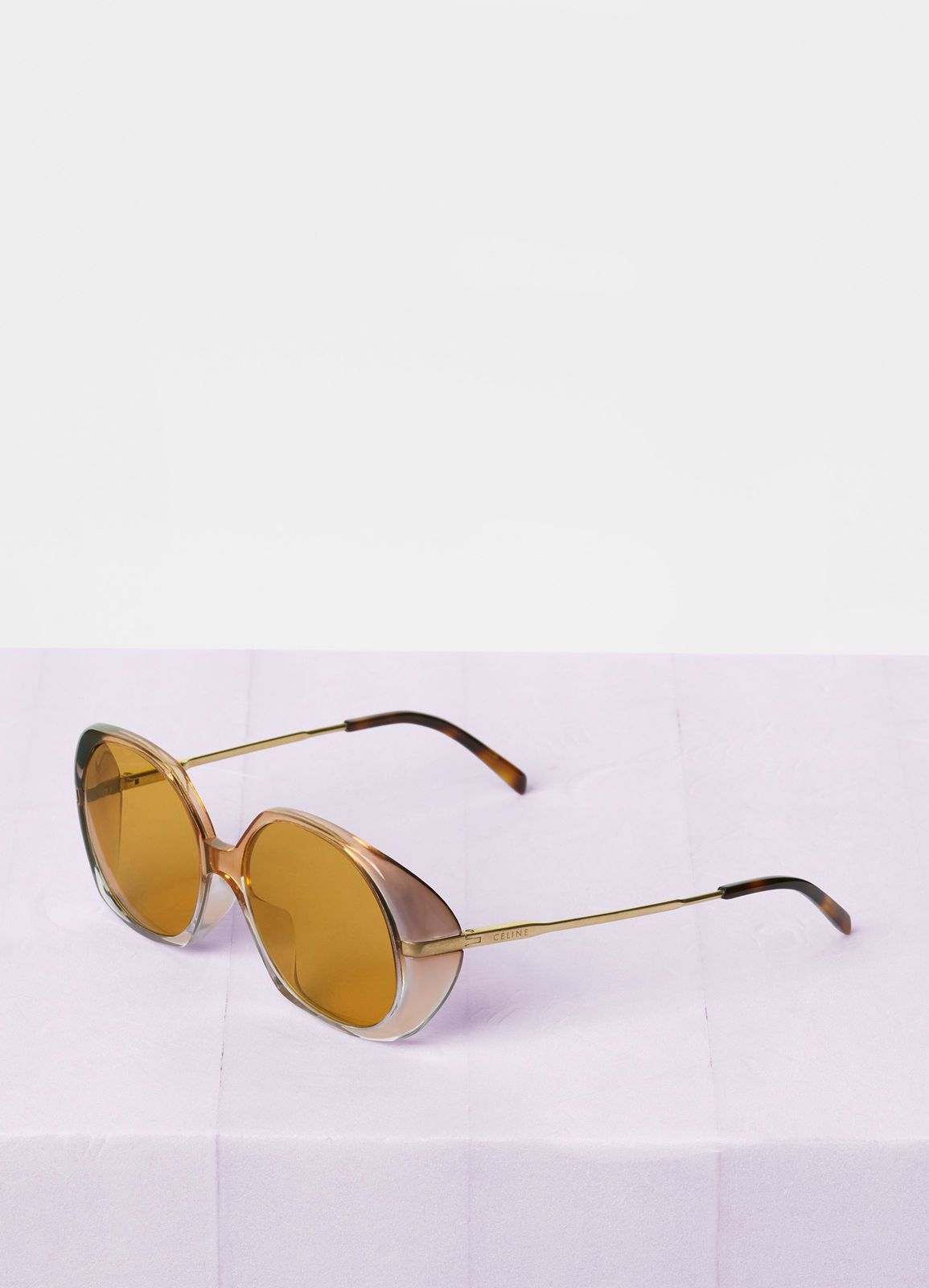 5833417b7a Céline - Gradient orange Butterfly sunglasses in acetate and metal ...