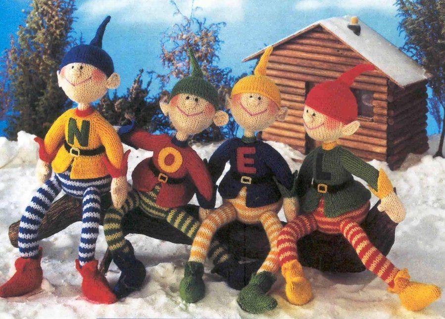 Santas Elves Free Knitting Pattern Experienced Knitting