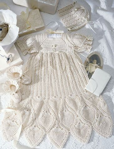 Crochet Christening Gown Pattern