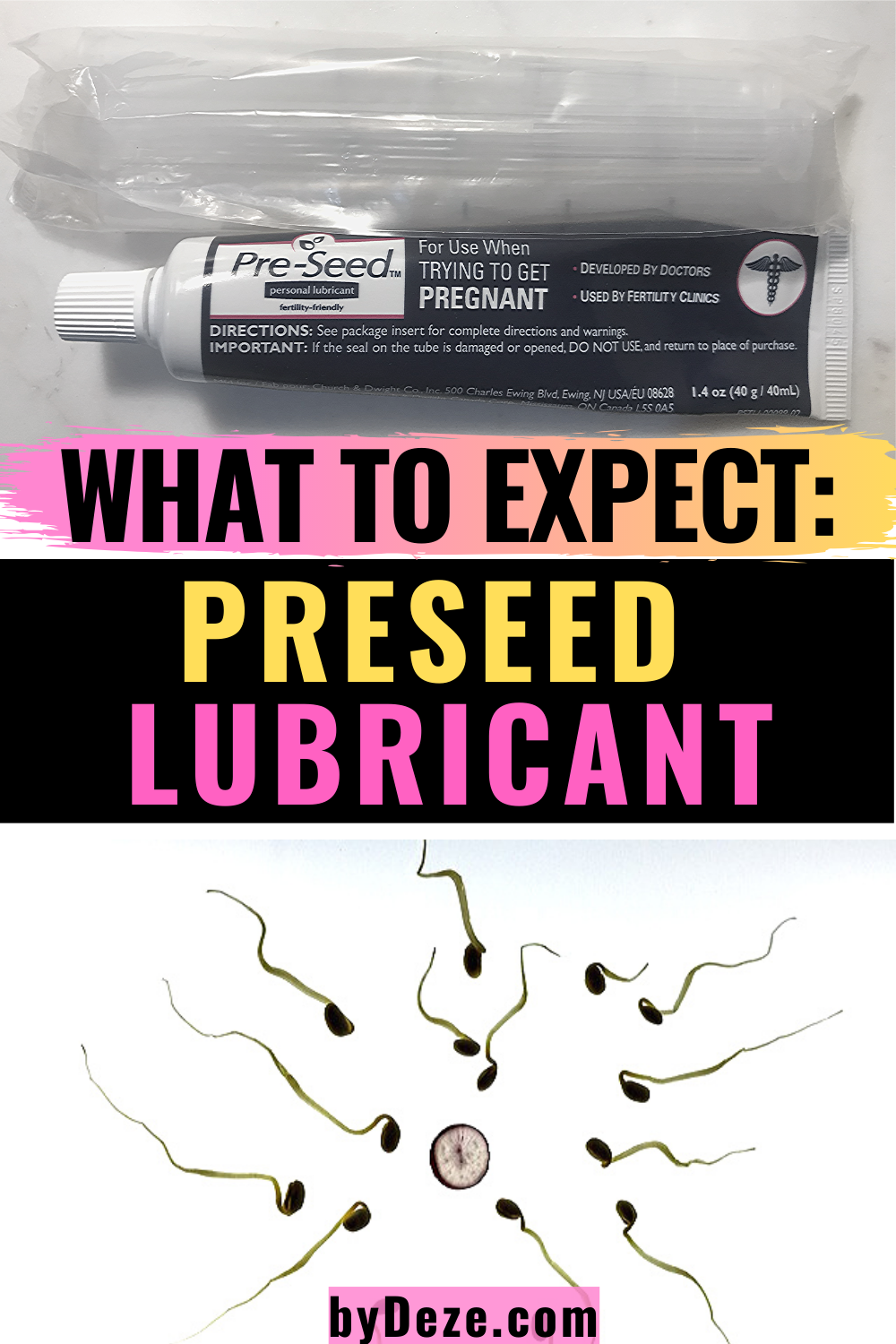 A review of one of the most popular fertility products - PRESEED! Click to read my personal TTC experience with this product. Did I finally get my BFP? #fertility #ttc #productreview #infertility