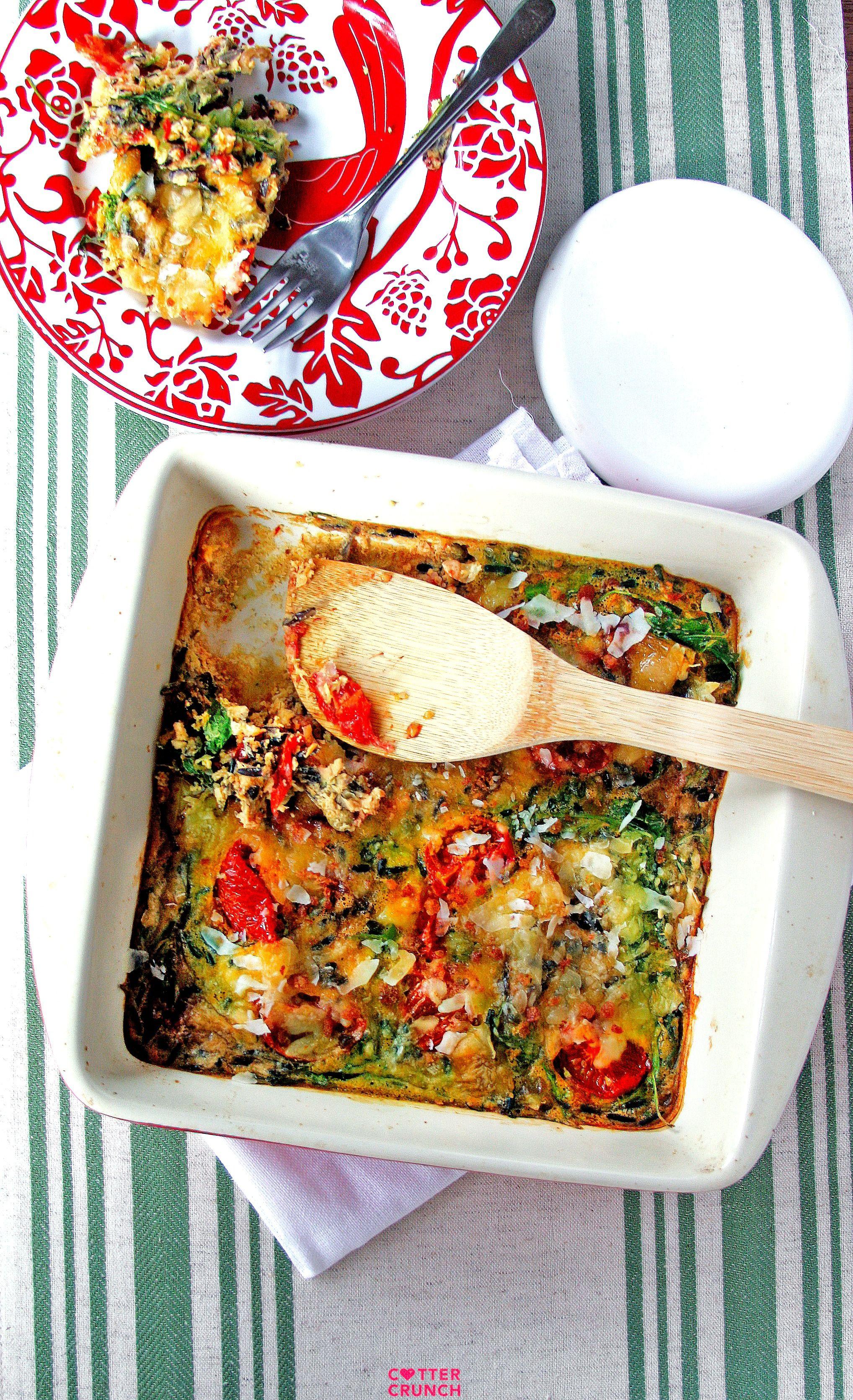 Gluten free blt egg casserole recipe recipes healthy