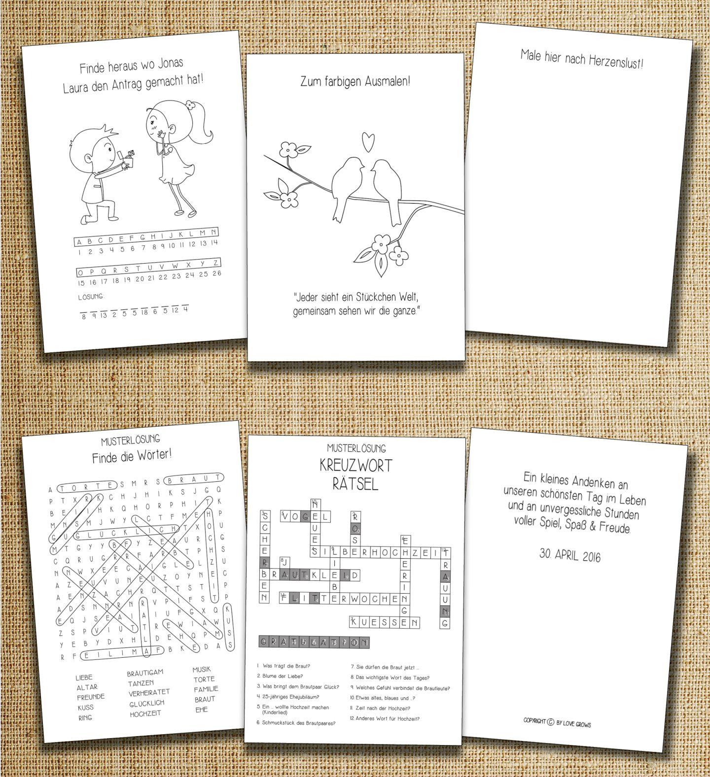 Vorschaubild 13 19 Sweet Gastgeschenke Hochzeit Gastebuch Hochzeit Wenn Du Mal Buch