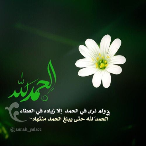 الحمدلله حتى يبلغ الحمد منتهاه By Kalima H Good Morning Arabic Islamic Art Iphone Background