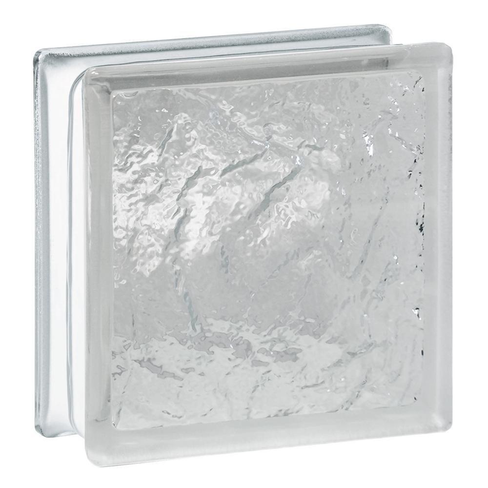 ice pattern glass block - Glass Blocks Lowes