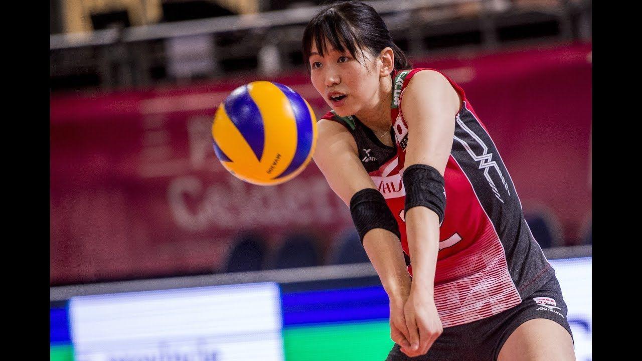 Sarina Koga Vs Thailand 7 8 2017 Fivb World Grand Prix Women Volleyball Ball Exercises Koga