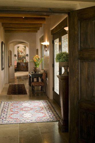 Great Southwestern Hallway Santa Fe