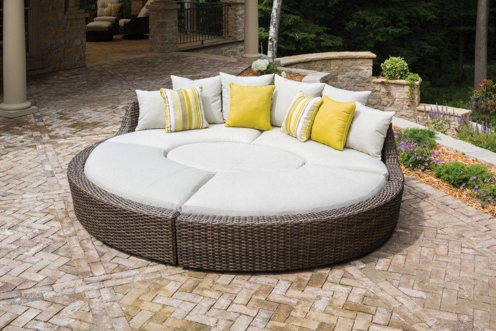 The Largo Daybed Outdoor Furniture Indoor Furniture Outdoor Wicker Furniture