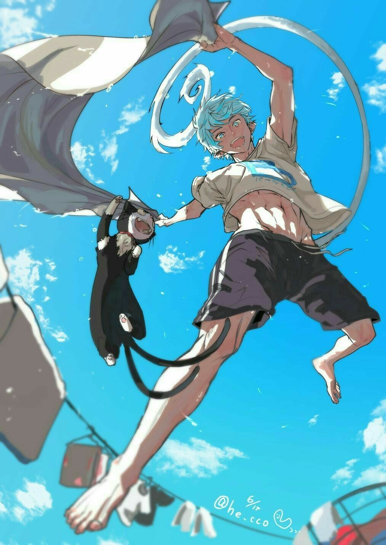 "Окумура Рин / Okumura Rin (""Синий экзорцист"") | Синий ..."