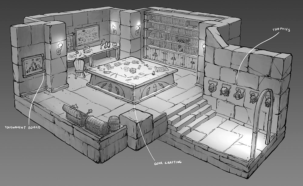 Feng zhu design more old school rpg rooms fzd term 2 for Old school house plans