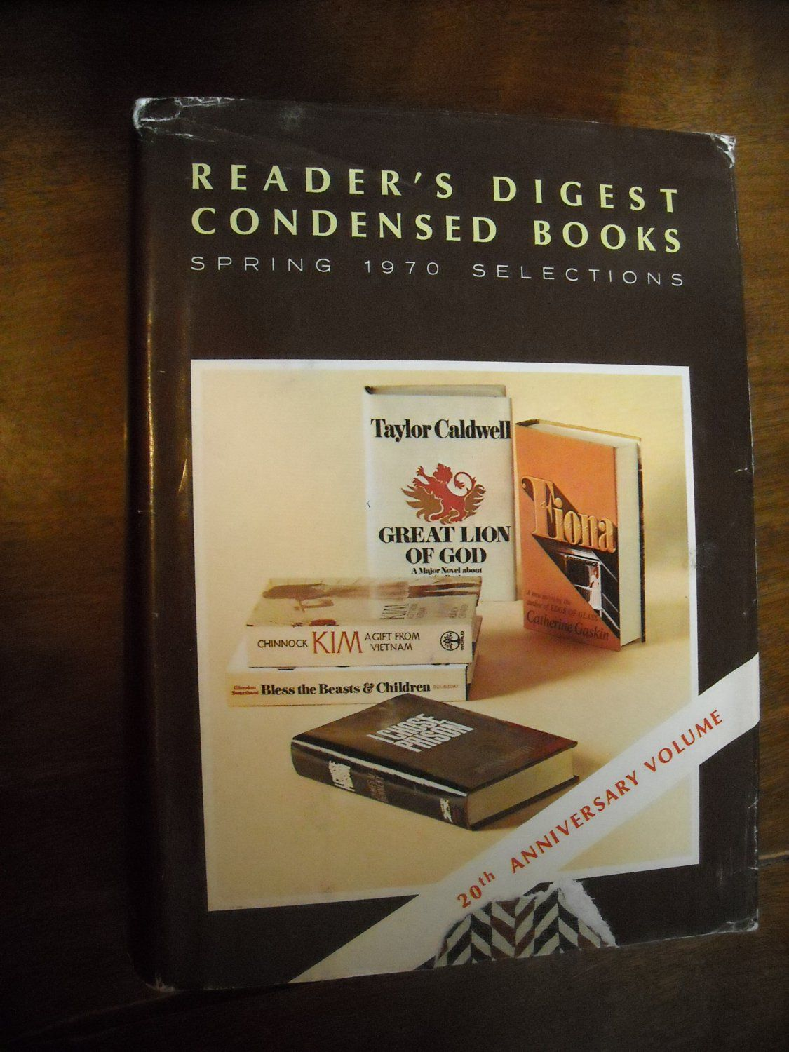Readers Digest Condensed Books Spring 1970 Selections ~~ For Sale At Wenzel  Thrifty Nickel Ecrater