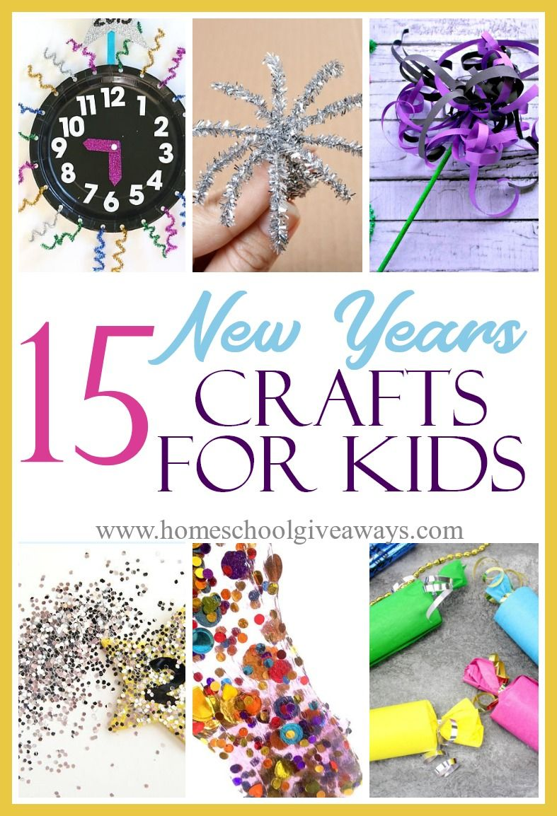 15 New Years Crafts for Kids Crafts for kids, New year's