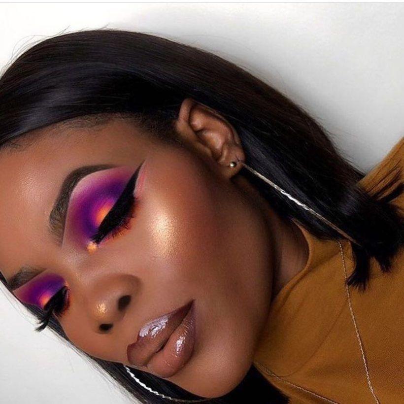 44 Best Makeup Ideas for Black Women That Makes Her Look More Pretty - Artbrid -