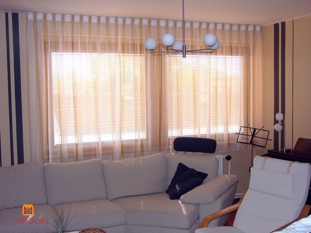 Moderne Wohnzimmer Gardinen | Gardinen Bodentiefe Fenster ...