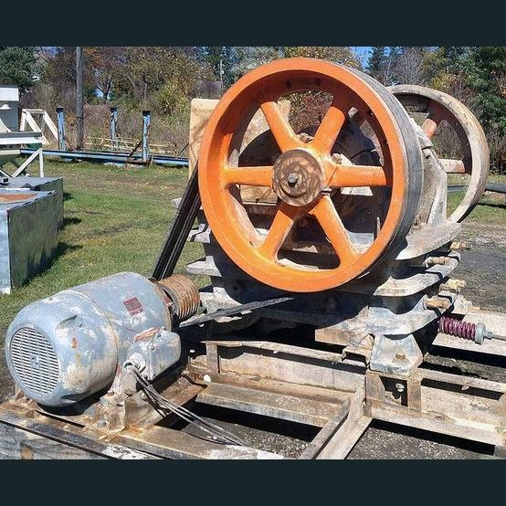 telsmith 15 x 38 jaw crusher  2 available  15 inch x 38 inch  please contact us for more