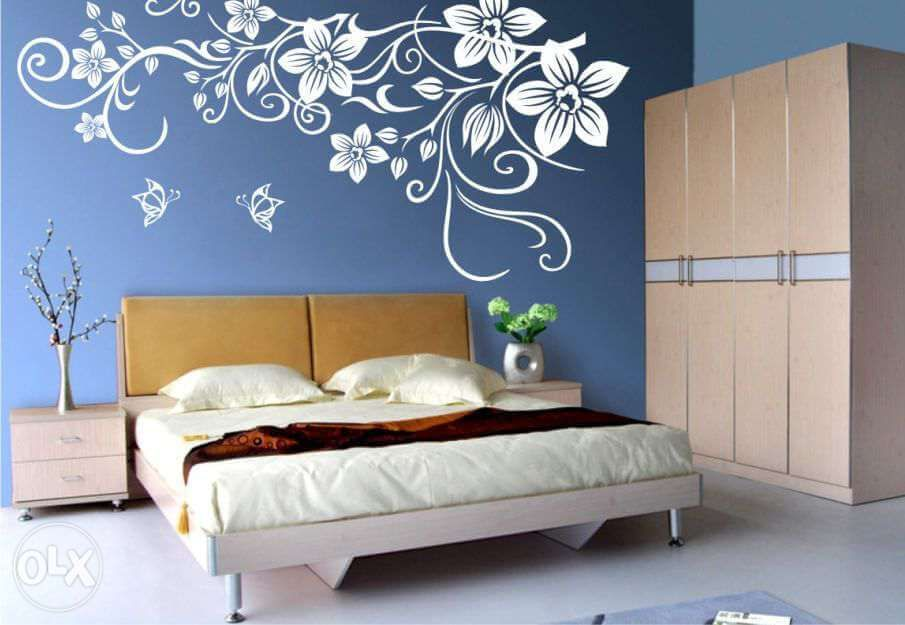 17 Wall Painting Design Ideas To Enhance Your Bedroom Wall