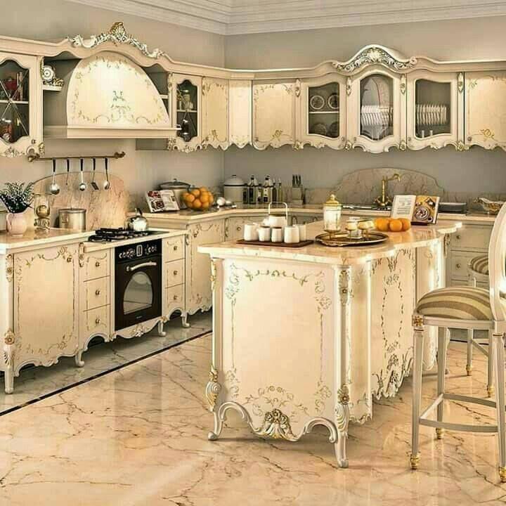 Shabby Chic Inspired Kitchen #shabbychicdecorcottage #HomeDecorBedrooms