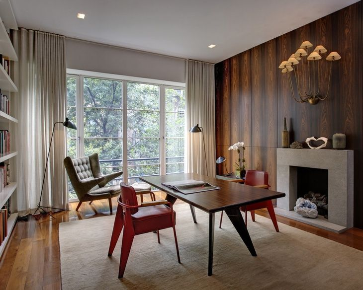 Adorable Mid Century Modern Home Office Ideas 20 Designs Decorating