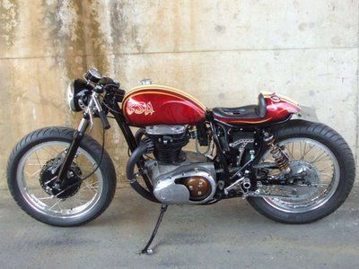 building a cafe racer: selecting a motorcycle ~ return of the cafe
