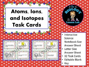 49++ Ions and isotopes worksheet answer key Online