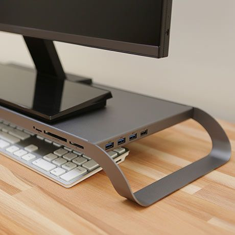 Prostation 3 0 Stand Grey By Monitormate Monitor