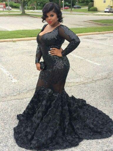 9f8364208a4 black prom gowb