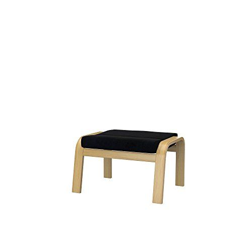 Soferia Replacement Cover For Ikea Poang Footstool Eco Leather