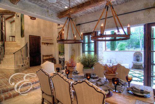 FARMHOUSE INTERIOR Early American Decor Inside This Vintage Farmhouse Seems Perfect Tuscan