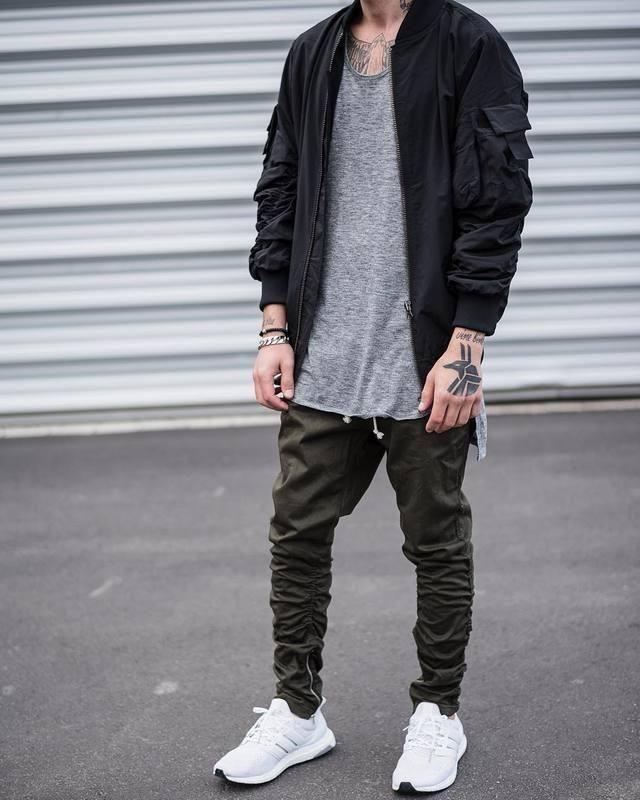 FOG Joggers | Mens fashion edgy