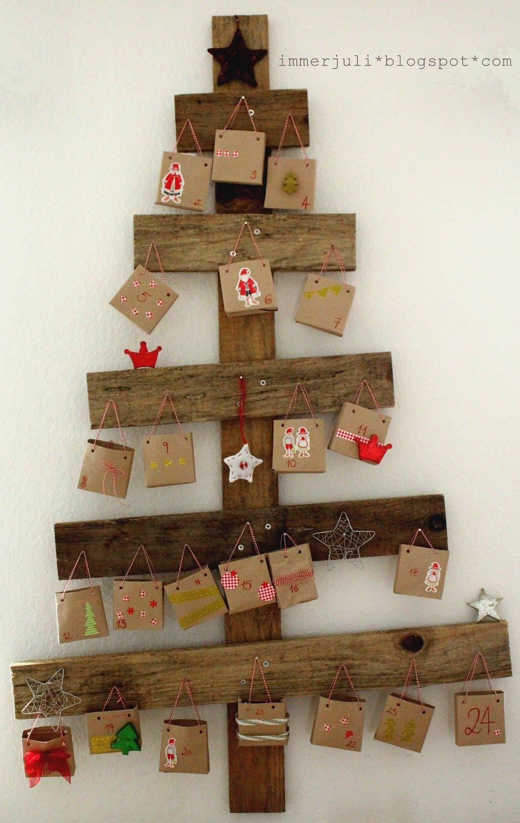 Adventskalender weihnachtszeit pinterest adventskalender adventskalender basteln und - Adventskalender pinterest ...