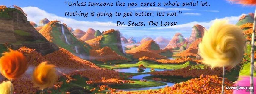 The Lorax Facebook Cover The Lorax Truffula Trees Lorax Trees