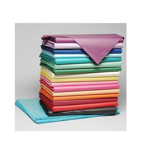 18gsm  Acid Free VARIETY OF COLOURS Tissue Paper Sheets 35cm x 45cm