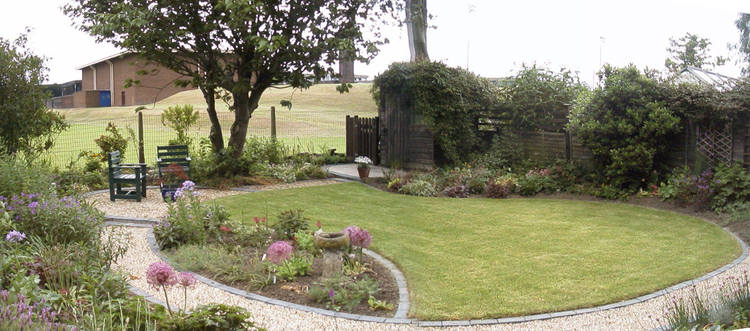 Town Garden After Photo Garden Design Garden Garden Landscaping