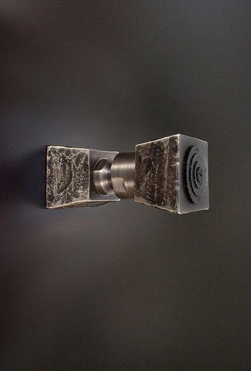 Кованые сантехника и аксессуары для ванной комнаты от Sonoma Forge, США #ковка #дизайнинтерьера