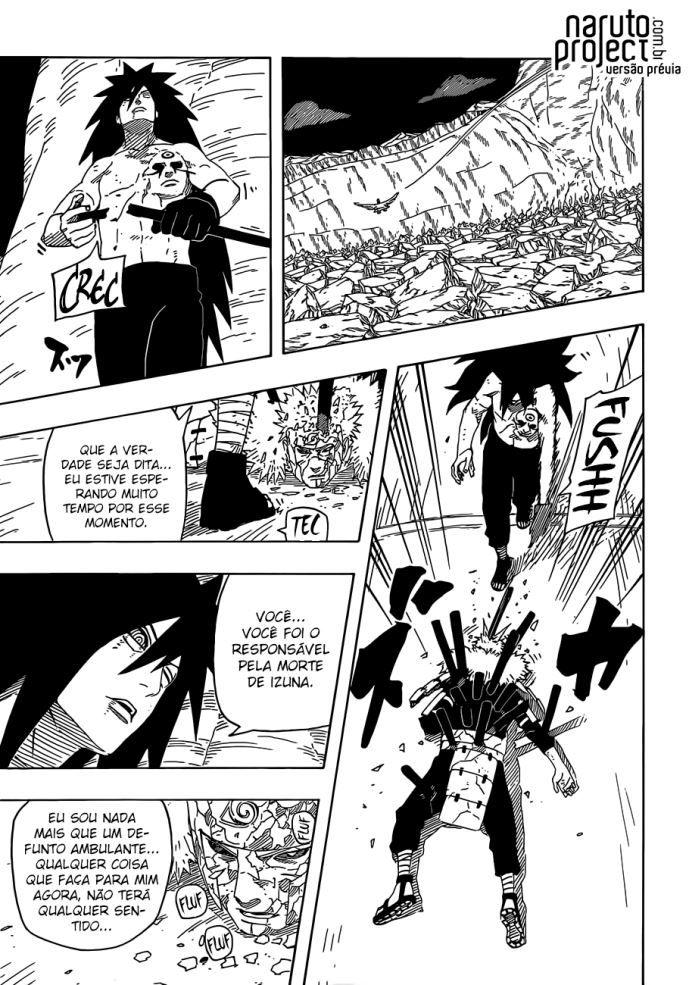 Lendo capítulo 661 :: Naruto