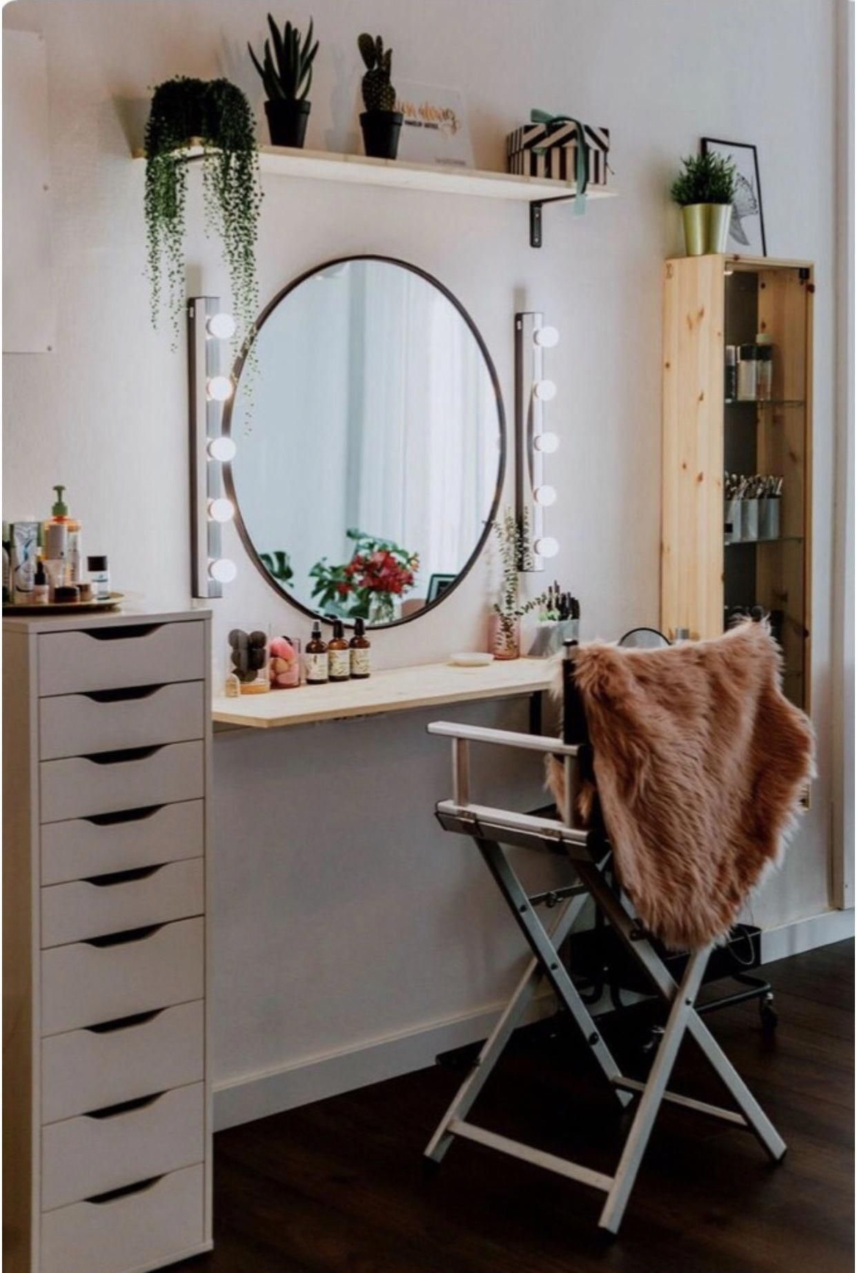 Bedroom Ideas Completely Creative Bedroom Decorating Aim 8600658578 Doityourselfbedroomsimple Small Room Design Makeup Room Diy Built In Dressing Table
