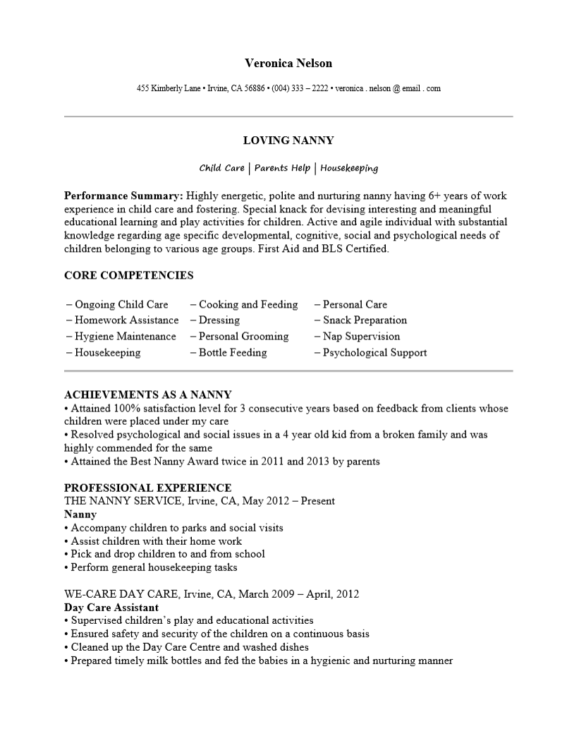 Resume Examples Me Nbspthis Website Is For Sale Nbspresume Examples Resources And Information Resume Examples Good Resume Examples Babysitter Resume