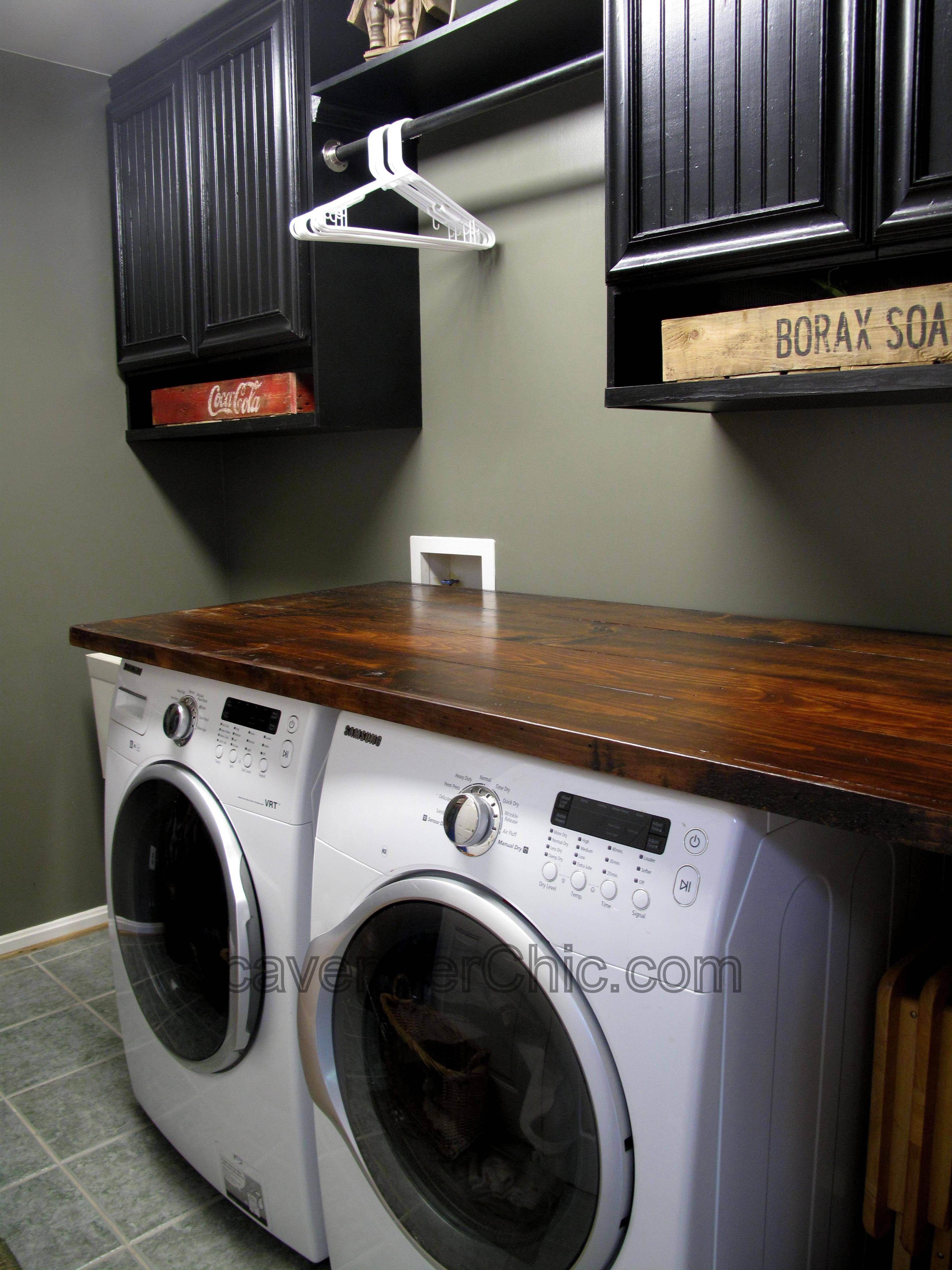 Diy Wood Countertop Laundry Room Pinterest Diy Wood