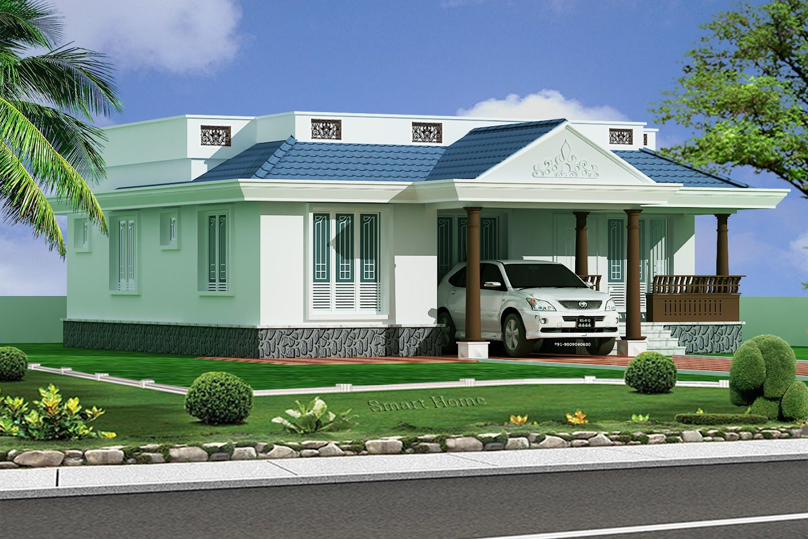 1100 sqft kerala home design httpwwwkeralahouseplannercom 1100