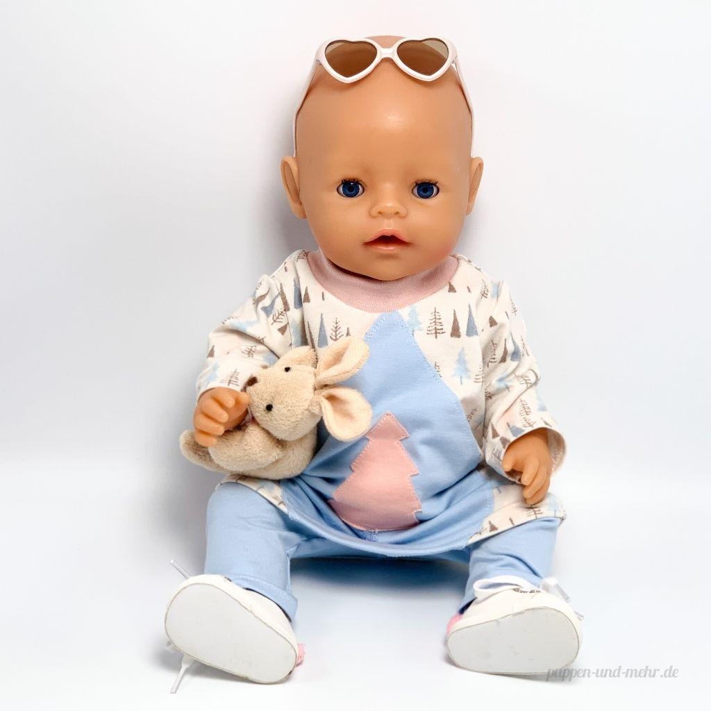 Freebook Von Monalienchen Tunika Fur Babyborn Baby Born Kleidung Puppenkleider Nahen Puppen