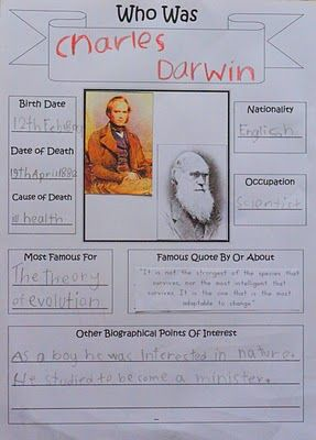 Charles darwin theory of evolution essay