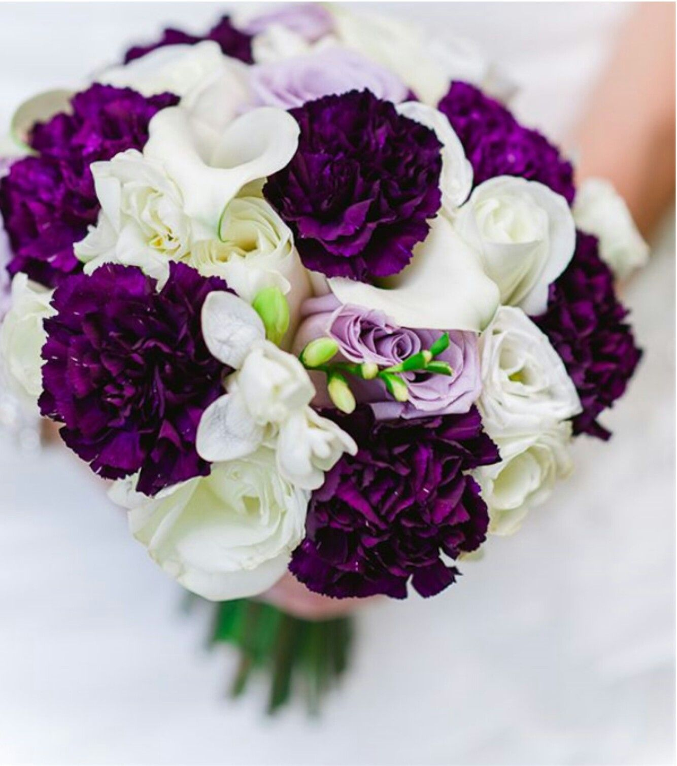 Pin By Mary Oca On Things I Love Purple Wedding Bouquets Purple