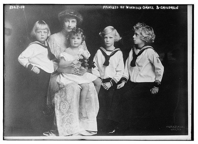 Princess Of Windisch Gratz Children Loc Gratz Photo Children