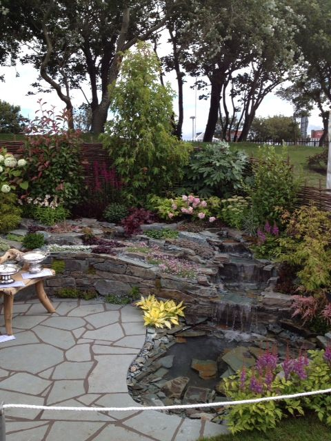 The Slate Garden Award Winning Show Garden At The Southport Flower Show Garten Ideen Garten Ideen