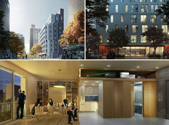 microapartment competition winner micro units pinterest arch