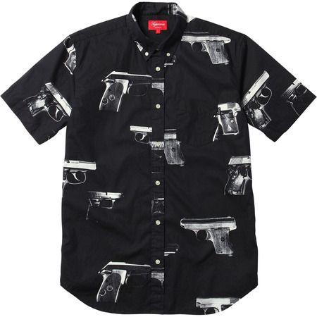 9e8cf846 Guns Shirt by Supreme | Clothes I'd Like to Wear | Shirts, Supreme t ...