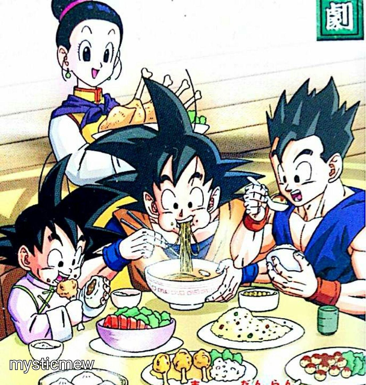 Imagen - Goten y chichi entrenando.jpg | Dragon Ball Wiki