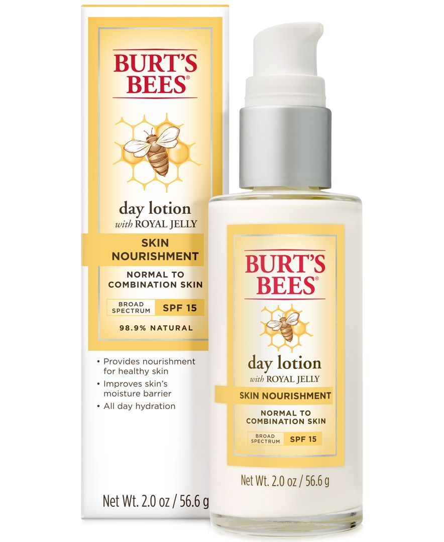 Burt S Bees Skin Nourishment Day Lotion Spf 15 2 Oz Drugstorefacemoisturizer Natural Anti Aging Skin Care Skin Moisturizer Skin Care Routine