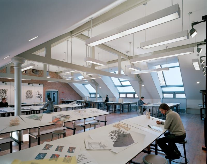 Rogers Partners Pratt Institute School Of Architecture School Architecture Interior Design School Commercial And Office Architecture
