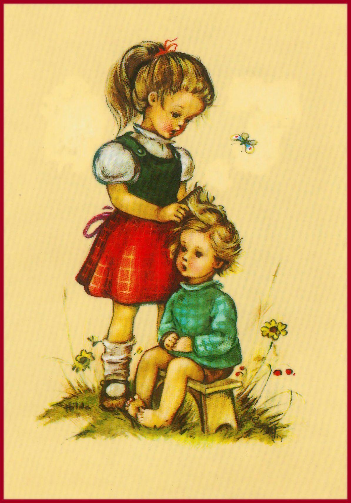 Zwei Kinder  (Hilde)
