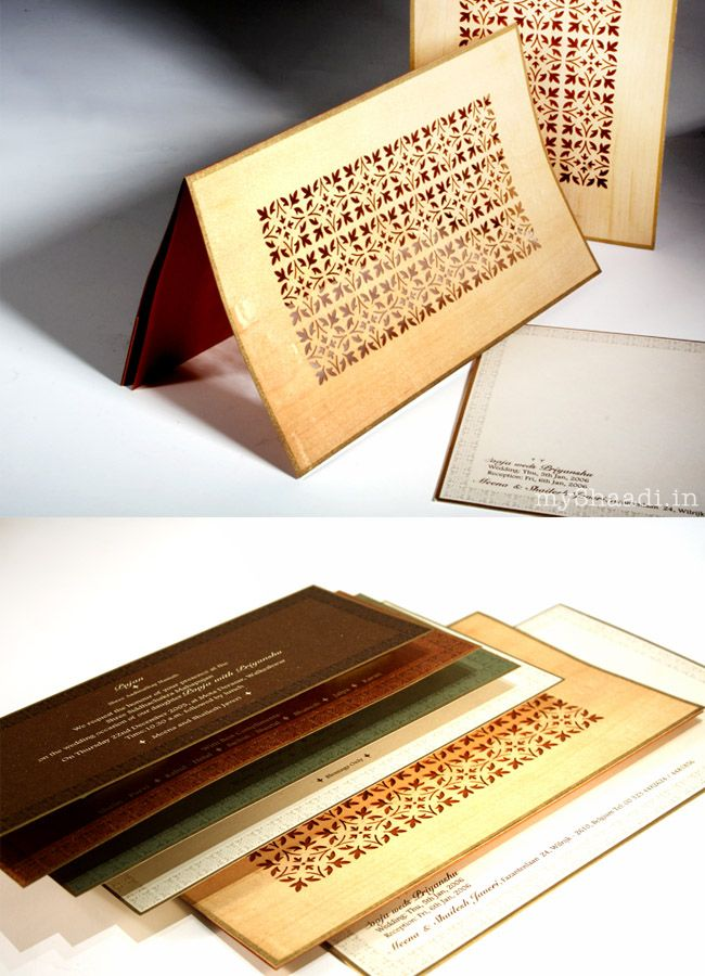 Designer Wedding Cards From India